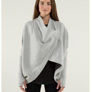 Lululemon It Makes Two Fleece Lined Wrap